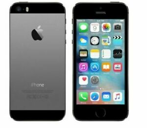 Apple iPhone 5S, 16GB, Gray, Factory Unlocked 4G LTE
