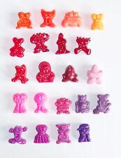 21 Gogo Gogos Gogo's Crazy Bones Classics Figuren 90er rot lila pink orange rosa
