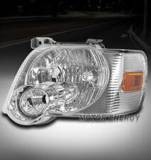 FOR 06-10 FORD EXPLORER/07+ SPORT TRAC HEADLIGHT LAMP CHROME DRIVER LEFT SIDE LH