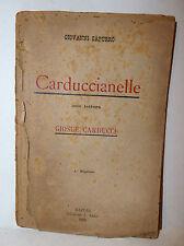 Odi Barbare Poesia,G. Capurro: Carduccianelle 1894 Lezzi lettera Giosuè Carducci