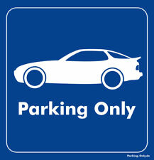 Parking Only - Porsche 944 - Aufkleber