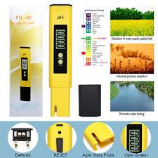 Portable PH Meter Test Pen Digital Electric Water Hydroponics Aquarium Tester