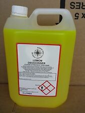 3 X 5 LT LEMON DEODORISER/ODOUR ELIMINATORS PET URINE DISINFECTANT CLEANER