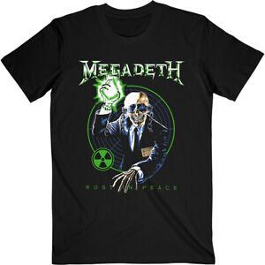 Megadeth Rust In Peace Target Shirt S-XXL T-Shirt Official Metal Band Tshirt
