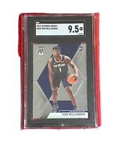 2019-20 Panini Mosaic #209 Zion Williamson Pelicans RC Rookie SGC 9.5 MINT+