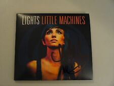 Lights (Valerie Poxleitner) In Person Signed Little Machines CD Cover+New CD+COA