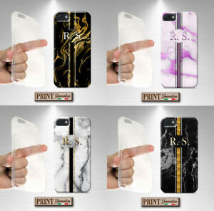 Cover For ,Huawei,Personalized Initial, Silicone, Soft, Fashion, Formal, Marble