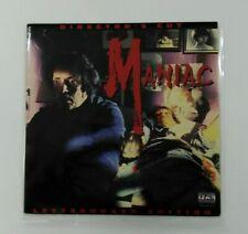 MANIAC Director's cut Japan LD Laserdisc   USED LD