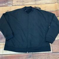Under Armour Womens Full Zip Track/bomber Style Jacket New NWT Black Size XL B13