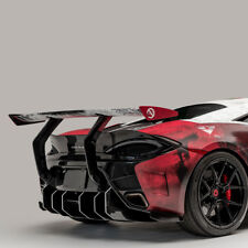 Vorsteiner 570-VX Rear Bumper with Carbon Fiber Diffuser fits McLaren 570S