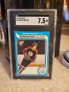 1979-80 Topps Wayne Gretzky RC #18 - SGC 7.5 Perfect Centering HOF Rookie