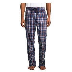 MEDIUM Mens Hanes Stretch Woven Sleep Pant Lounge Bottom Pajamas NWT