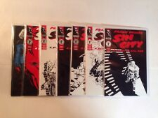 Sin City A Dame To Kill For 1-6 Complete Near Mint Lot Plus Sex And Violence 1