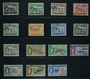 TURKS & CAICOS, a collection of 15 stamps, used condition, Grand Turk postmarks.