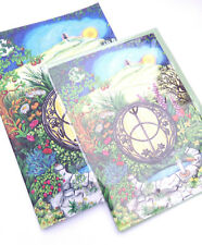 Chalice Well card and notebook gift set blank pocket hippy Glastonbury birthday