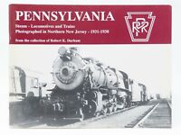 PRR Pennsylvania Steam-Locomotives and Trains Photographed in N.J. 1931-1938