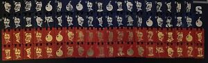 Stratego  CHOOSE Wooden WOOD BLUE RED Replacement Game Pieces Spy Flag  1961