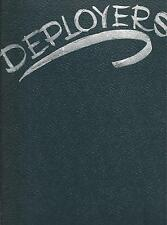 USS RANGER CVA-61 ORIENTAL DEPLOYMENT CRUISE BOOK 1962 YEAR LOG SET OF (2) BOOKS