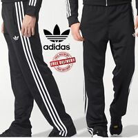 ✅24h DELIVERY✅Adidas Originals Firebird Mens Black Track Bottom Trousers rrp £60