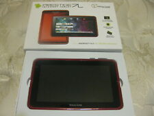 "Visual Land Prestige 7L  7"" Android Tablet with 8GB Memory RED NIB 4.0 Ice Cream"