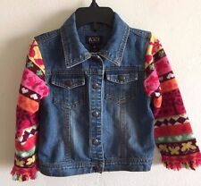 The Children's Place Denim Jacket Snap Front Girl's Size 4T