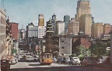 Cable Car San Francisco California Postcard 1950's
