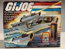 VERY RARE VINTAGE HASBRO GI JOE SHARC 1984 SEALED CONTENTS NEW NICE BOX MIB