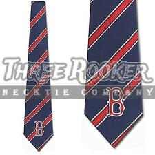 Red Sox Necktie Mens Licensed Boston Red Sox Ties NWT FREE SHIPPING
