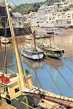 B97250 polpero ship bateaux harbor cornwall   uk