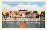 Savannah Georgia 1942 Postcard General Oglethorpe Hotel Wilmington Island
