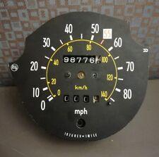 Toyota Celica 1980 Odometer Gauge Cluster Speedometer Stopped @ 98,776 Miles