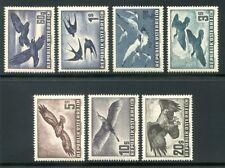 Francobolli europei sul uccelli