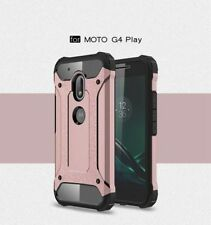 Rugged Armor Shockproof Hybrid Cover Case For Motorola Moto G4/Plus/Play/G3/E3/M