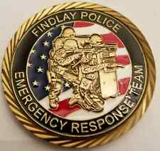 Findlay Ohio Police ERT Emergency Response Team Fide Et Fortitude 1.75""
