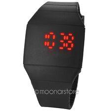 LED Digital Reloj Pantalla Táctil Silicona Deporte Deportivo Hombre niño Unisex