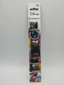 NEW TOY STORY BUCKLE DOWN PLASTIC CLIP DOG COLLAR TOY STORY LICENSED SIZE SMALL