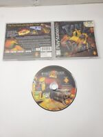 Tiny Tank Sony PlayStation 1 Black Label Complete CIB TESTED NICE PS1 PS2