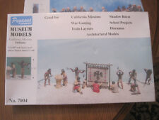 PEGASUS HOBBIES MUSEUM MODELS  INDIANS 1/48 NEUF  KIT MAQUETTE DIORAMA