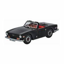 Oxford 76TR6004 Triumph TR6 schwarz Maßstab 1:76 Modellauto NEU!°