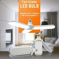 E27 45W LED Folding Garage Light Constant Current Light Bulbs (Cold White) Lamp
