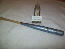 Toronto Blue Jays CARLOS DELGADO Silver Louisville Slugger Bat 2003 Rare & BONUS