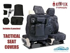 Kryptek Typhon Cordura Ballistic Tactical Seat Covers for Chevy Silverado