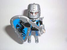 Playmobil Figures Serie 5460 Boys Ritter mit Schwert Drachen blau