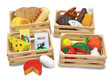 Melissa & Doug Food Groups Free Toy Play Sturdy New