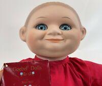 Vintage 1995 GOEBEL DOLLS Bette Ball Creepy Murphy Monk Porcelain Head Male Doll