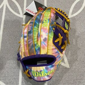 """Wilson A2000 PEACE & LOVE 1975 LIMITED EDITION 11.75"""" INFIELD GLOVE SOLD OUT NEW"""