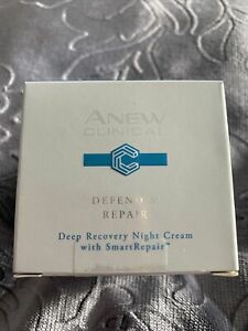 Avon anew clinical defend & repair deep recovery night cream with smart repair