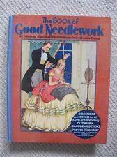 """VINTAGE 1930's """"BOOK of GOOD NEEDLEWORK"""" EMBROIDERY SEWING PATTERNS & PROJECTS"""