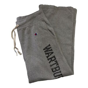 Champion Women's Grey Tracksuit Bottoms Joggers Size: Large Activewear Trousers