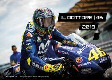 IL DOTTORE   46 - Valentino Rossi  - 2019 - Kalender - DIN A3   MotoGP   GRATIS